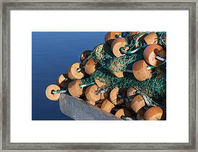 The Bouys Framed Print by Kim Hojnacki
