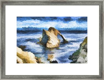 The Bow Fiddle  Framed Print