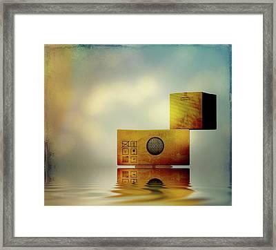 The Box Framed Print by Bob Orsillo