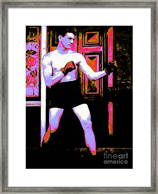 The Boxer - 20130207 Framed Print by Wingsdomain Art and Photography