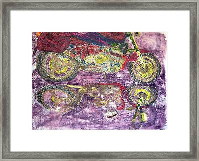The Boxer  Framed Print by Saundra Lee York