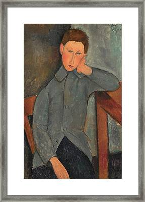The Boy 1919 Framed Print