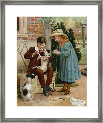 The Boy Doctor Framed Print