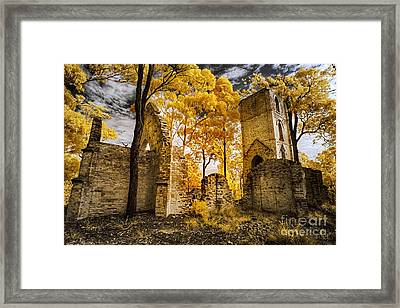 The Boydtown Church Framed Print by Russ Brown