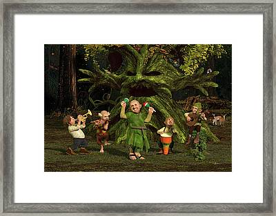 The Boys In The Band Framed Print