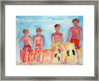 The Boys Of Summer Framed Print