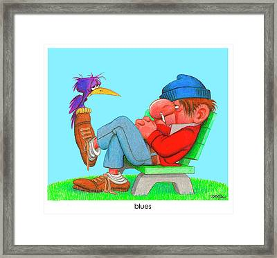 The Bozo Collecton 3 Framed Print