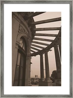 The Brackers In Sepia Framed Print by Megen McAuliffe