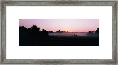 The Brass Band Of Dawn Framed Print by Tom Hefko