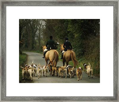 The Bray Harriers, Co Wicklow, Ireland Framed Print by The Irish Image Collection