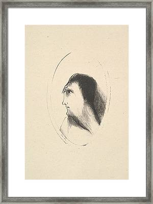 The Breadth And Flatness Of The Frontal Bone Framed Print