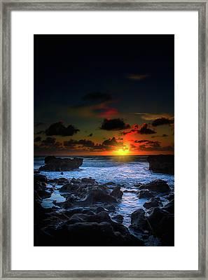 The Break Of Dawn Framed Print by Mark Andrew Thomas