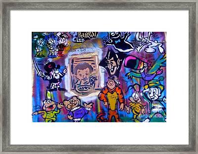The Breakfast Club Framed Print by Tony B Conscious