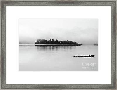The Breaking Fog Framed Print