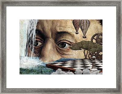 The Breaking Point Framed Print by Ally White