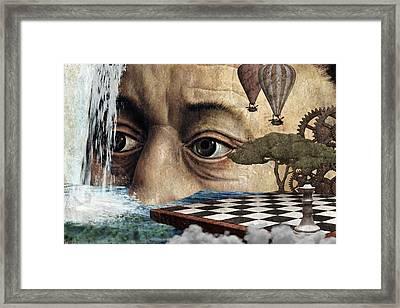 The Breaking Point Framed Print