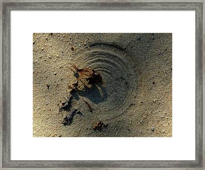 The Breath Of God - Study #2 Framed Print