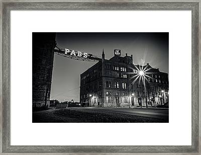The Brewery Framed Print
