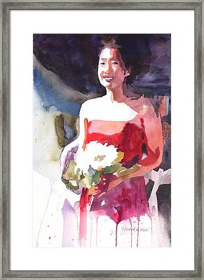 The Briadesmaid Framed Print by Yolanda Koh