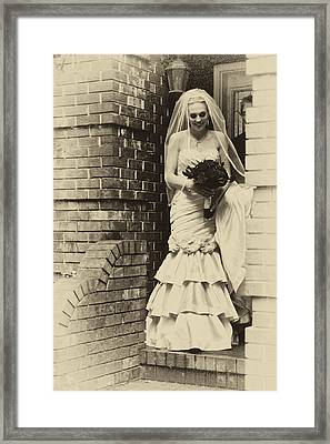 The Bride 2 Example Framed Print by David Patterson