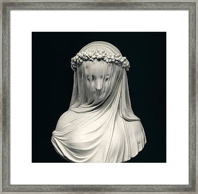 The Bride Framed Print by English School