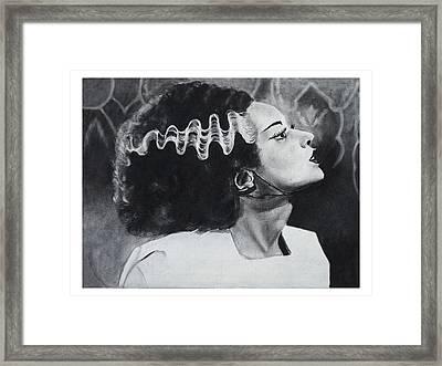 The Bride Of Frankenstein Framed Print by Create Art
