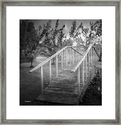 The Bridge 2 Framed Print