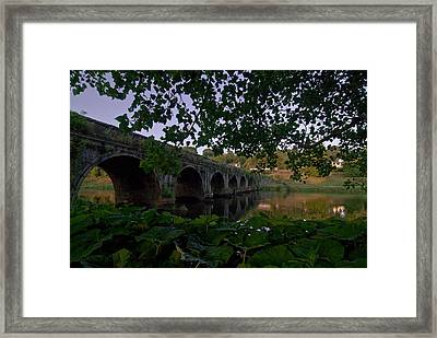 The Bridge At Inistogue Framed Print by Joe Houghton