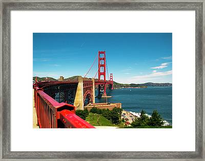 The Bridge Framed Print by Brendan Quinn