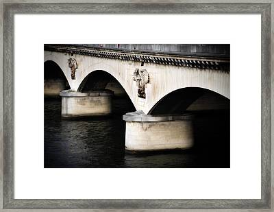 The Bridge Framed Print by Cabral Stock