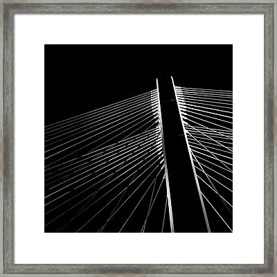 Framed Print featuring the photograph The Bridge by Chris Feichtner