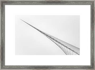 The Bridge Framed Print by Jeroen Van De Wiel