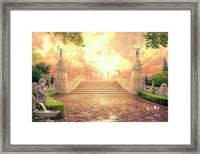 The Bridge Of Triumph Framed Print