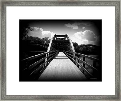 The Bridge Framed Print by Trina Prenzi