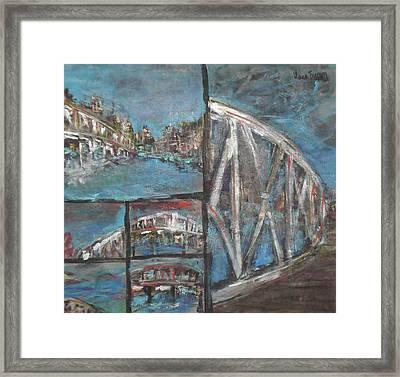 The Bridge Framed Print by Vivien Ferrari