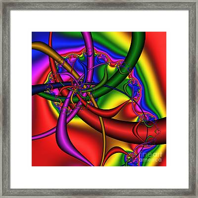 The Bridges Of Mad Dizzy County 184 Framed Print by Rolf Bertram