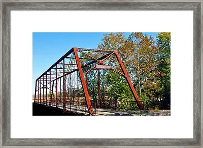 The Bridgetone Bridge Framed Print