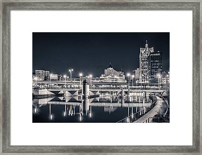 Framed Print featuring the photograph The Bright Dark Of Night by Bill Pevlor