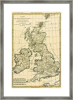 The British Isles Framed Print by Guillaume Raynal