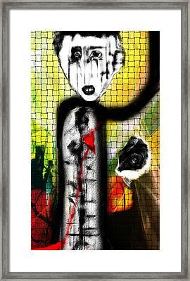The Broken Heart Framed Print by Rc Rcd