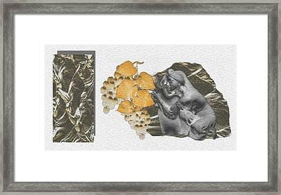 The Broken Wine Pot Framed Print by Norman Reutter