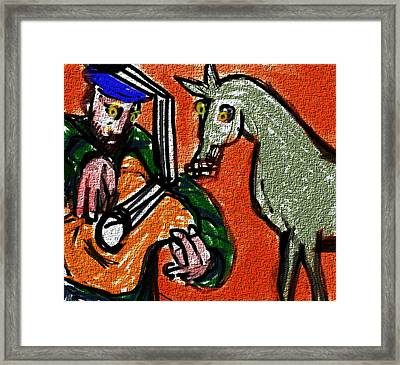 The Brokenhearted  Framed Print by Paul Sutcliffe