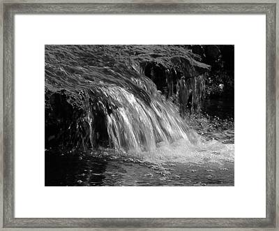 The Brook Framed Print by Audrey Venute