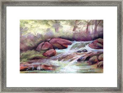 The Brook Framed Print by Patricia Seitz
