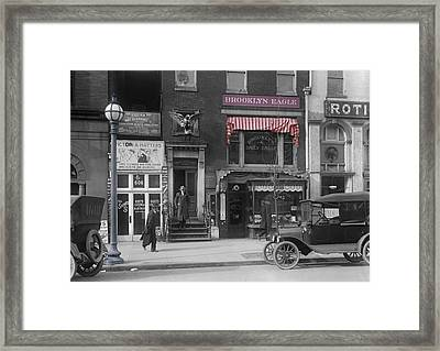 The Brooklyn Eagle Framed Print by Steve K