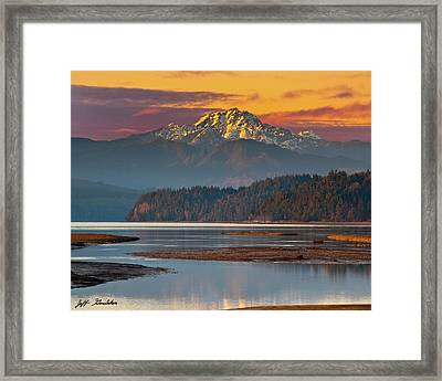 The Brothers From Hood Canal Framed Print