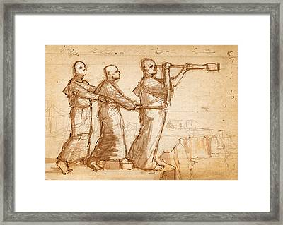The Brothers  Framed Print by H James Hoff