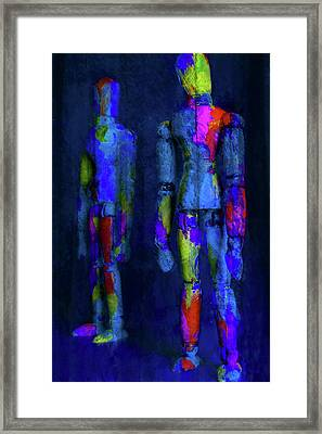 Framed Print featuring the photograph The Brothers by Jeff Gettis