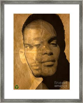 3 Portraits In One Framed Print