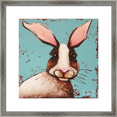 The Brown Rabbit Framed Print